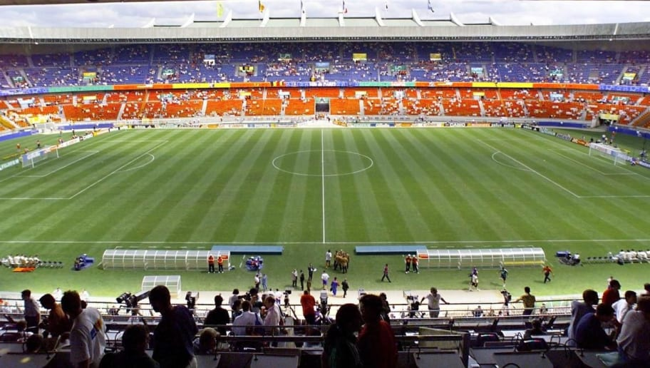 General view of the Parc des princes stadium, take