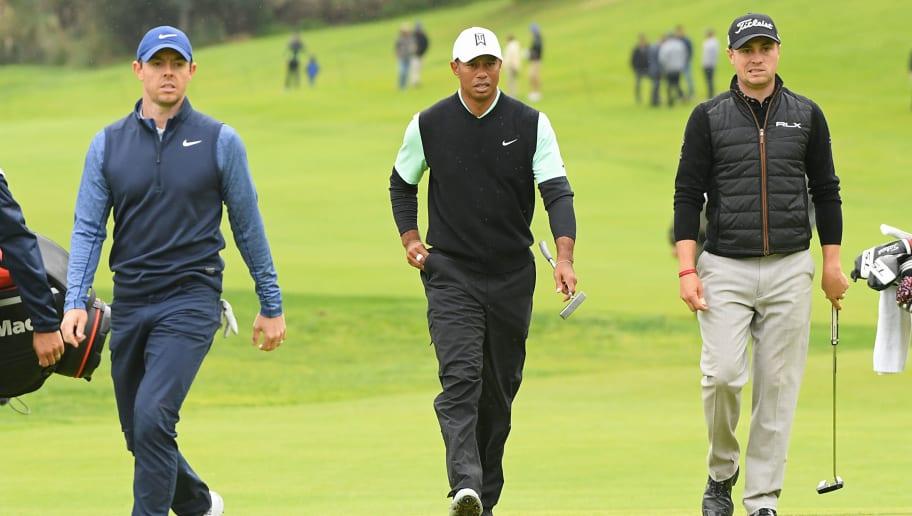 Rory McIlroy,Tiger Woods,Justin Thomas