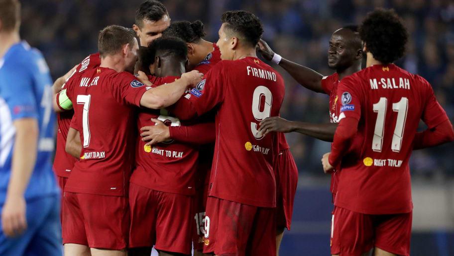 James Milner,Mohamed Salah,Naby Keita,Roberto Firmino