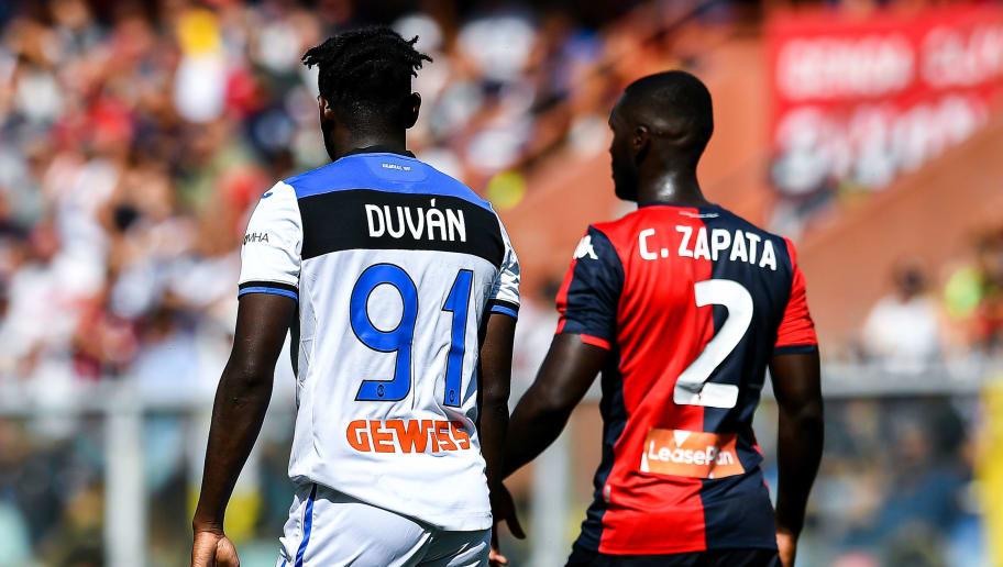 Duvan Zapata,Cristian Zapata