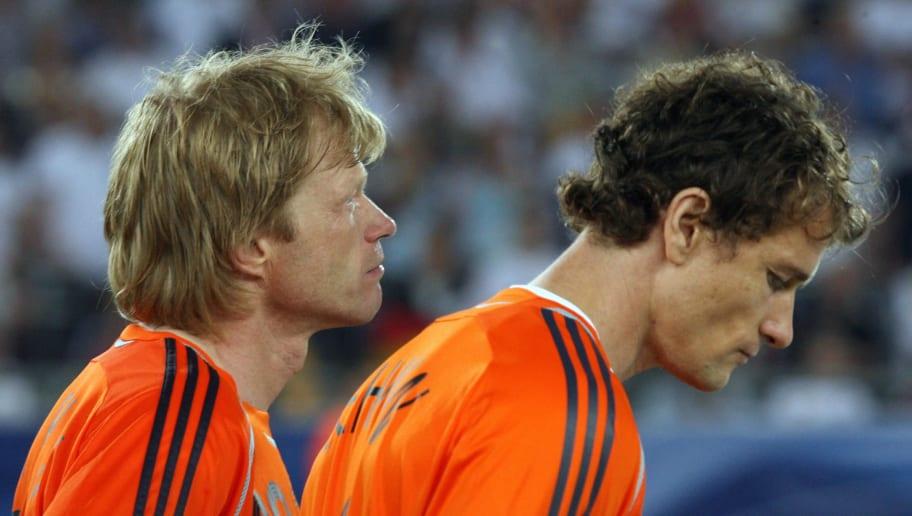 German goalkeeper Jens Lehmann and Germa