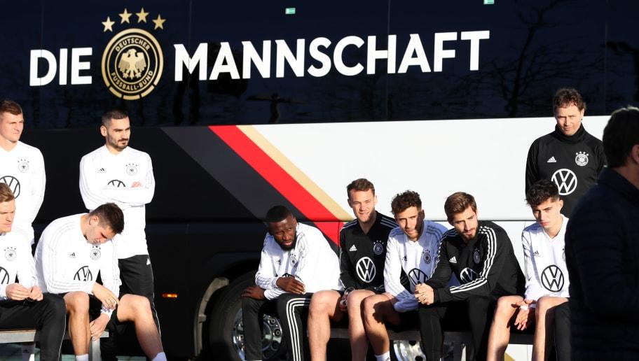 German National Team New Team Bus Handover