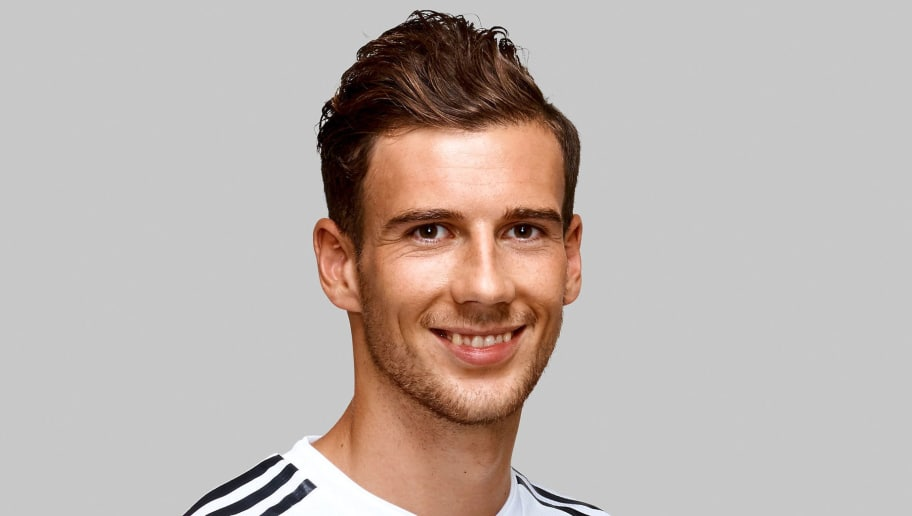 EPPAN, ITALY - JUNE 05:  Leon Goretzka poses for a photo during a portrait session ahead of the 2018 FIFA World Cup Russia at Eppan training ground on June 5, 2018 in Eppan, Italy.  (Photo by Pool/DFB/Bongarts/Getty Images)