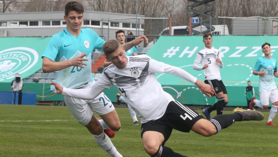 Germany U17 v Slovenia U17 - UEFA Elite Round
