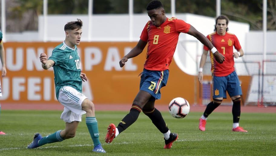 Germany U17 v Spain U17 - Algarve Cup - Algarve 2020 International Tournament