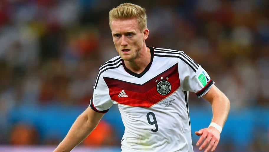 RIO DE JANEIRO, BRAZIL - JULY 13:  Andre Schurrle of Germany on the ball during the 2014 FIFA World Cup Brazil Final match between Germany and Argentina at Maracana on July 13, 2014 in Rio de Janeiro, Brazil.  (Photo by Clive Rose/Getty Images)