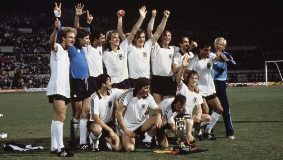 Germany v Belguim - Euro 1980 Final