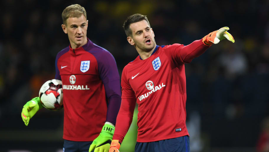 Image result for joe hart tom heaton