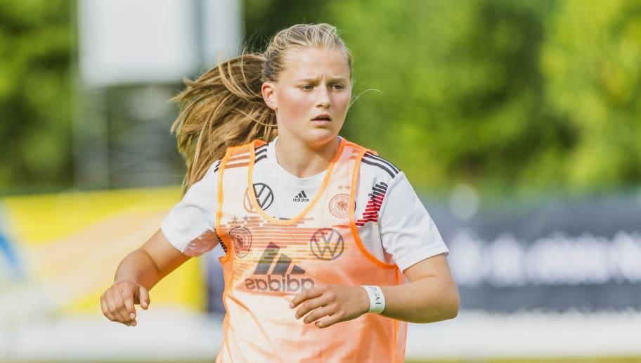 Germany v England - U16 Girl's Open Nordic Tournament Final