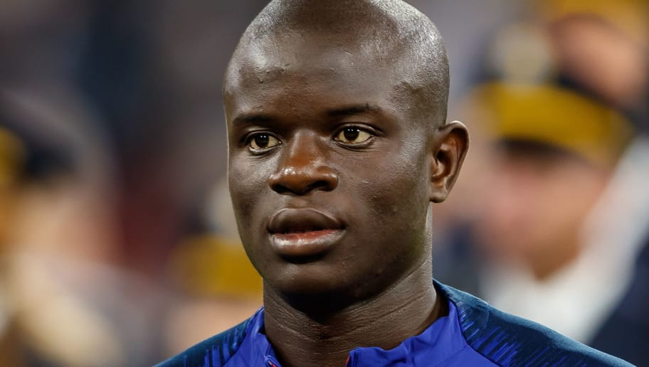 MUNICH, GERMANY - SEPTEMBER 06: Ngolo Kante of France looks on during the UEFA Nations League group A match between Germany and France at Allianz Arena on September 6, 2018 in Munich, Germany. (Photo by TF-Images/Getty Images)