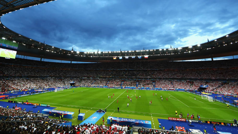 PARIS, FRANCE - JUNE 16:  A general view during the UEFA EURO 2016 Group C match between Germany and Poland at Stade de France on June 16, 2016 in Paris, France.  (Photo by Clive Mason/Getty Images)