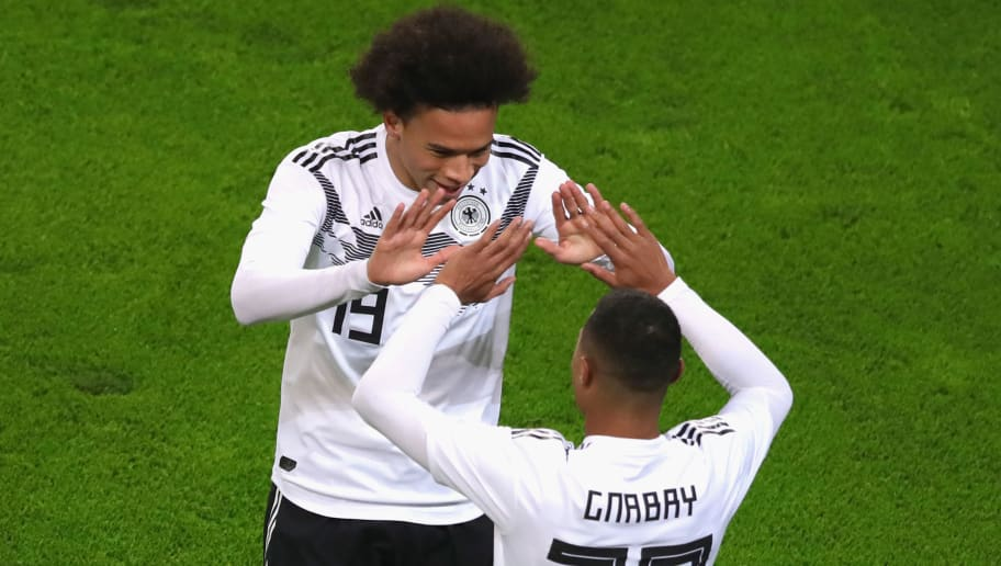 Serge Gnabry Reveals That he has Been Urging Leroy Sane to Move to Bayern Munich
