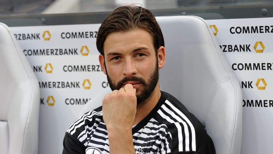 LEVERKUSEN, GERMANY - JUNE 08: Marvin Plattenhardt of Germany looks on prior to the international friendly match between Germany and Saudi Arabia at BayArena on June 8, 2018 in Leverkusen, Germany. (Photo by TF-Images/Getty Images)