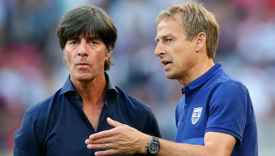 Juergen Klinsmann,Joachim Loew