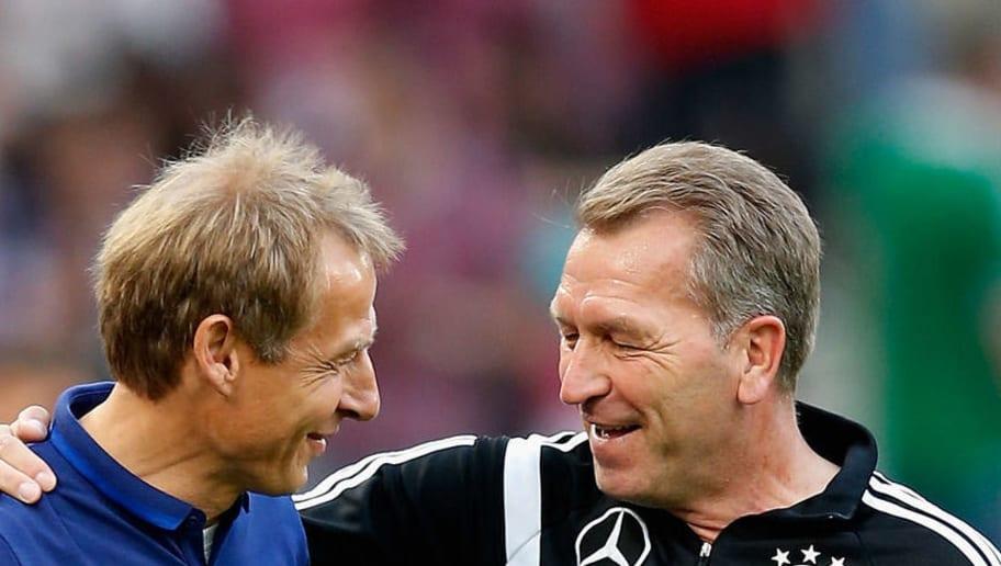 Juergen Klinsmann,Andreas Koepke
