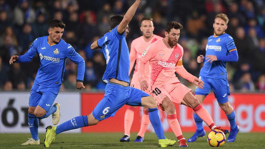 Image result for Barcelona vs Getafe