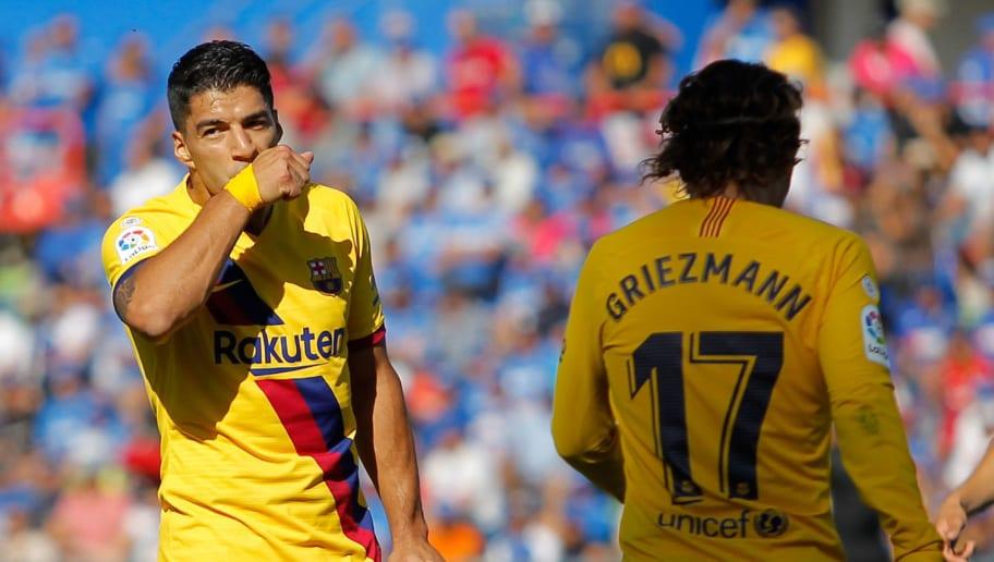 Antoine Griezmann,Luis Suarez