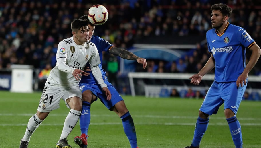 Getafe 0 0 Real Madrid El Real Redam Kegigihan Bermain