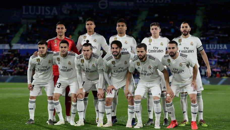 Prediksi Lineup Real Madrid Vs Getafe La Liga