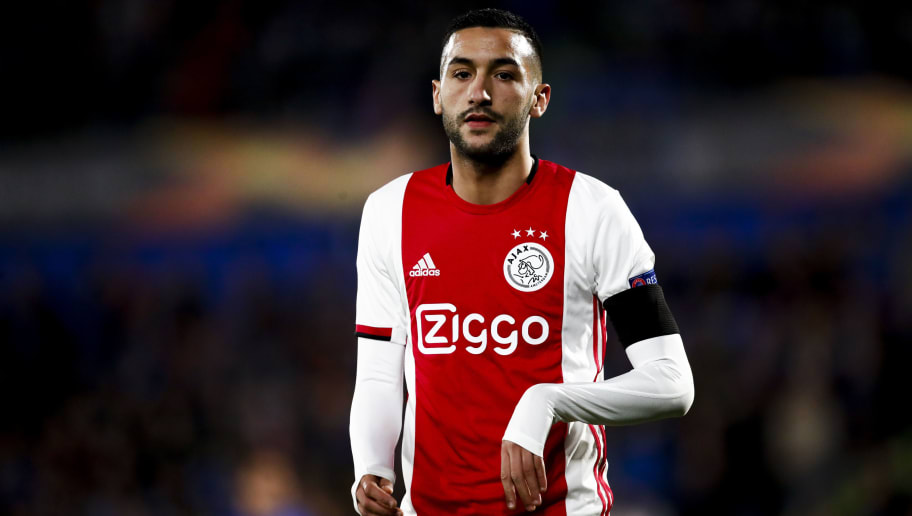 Ziyech: Lampard played big role in convincing me to join Chelsea
