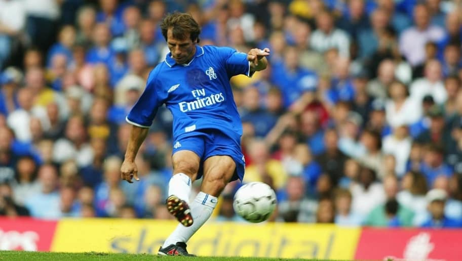Gianfranco Zola scores second goal