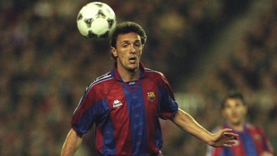 Gica Popescu of Barcelona