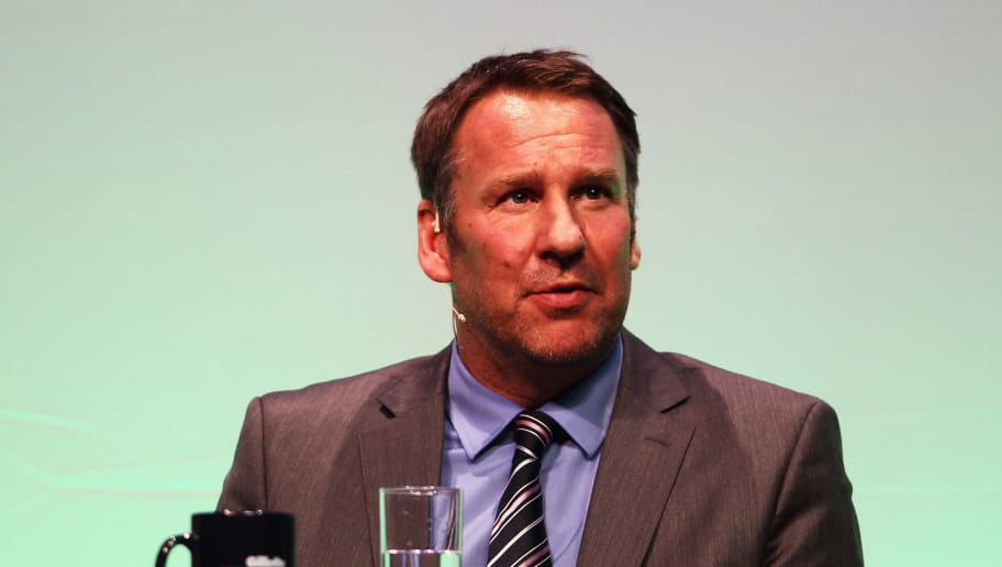 BOURNEMOUTH, ENGLAND - MARCH 19:  Paul Merson answers questions during Gillette Soccer Saturday Live with Jeff Stelling on March 19, 2012 at the Bournemouth International Centre in Bournemouth, England.  (Photo by Bryn Lennon/Getty Images)