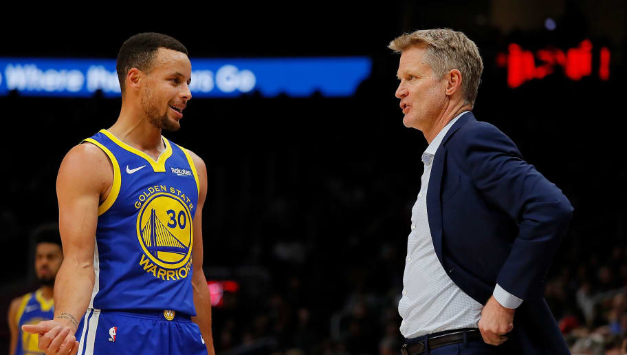 Stephen Curry,Steve Kerr