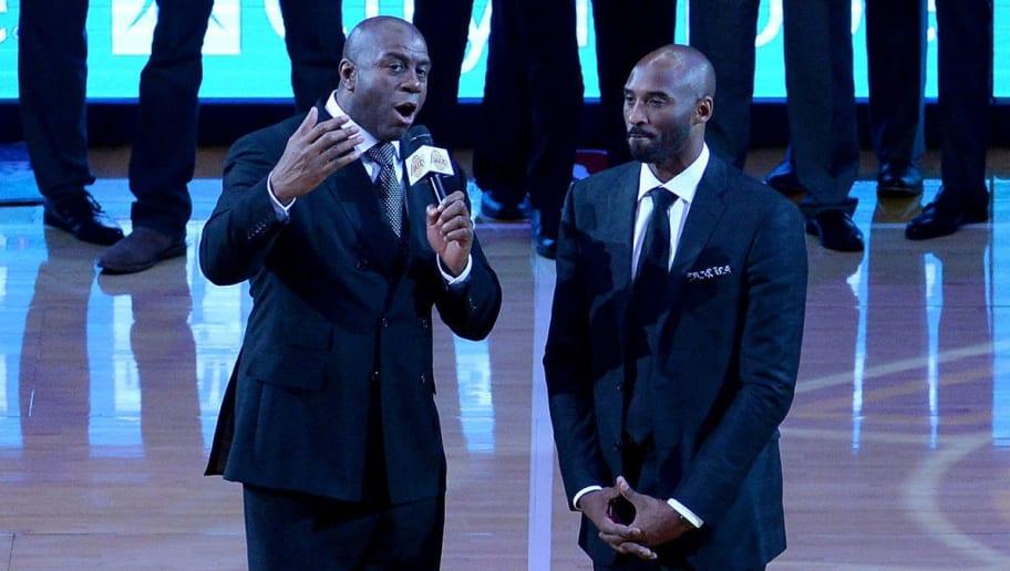 Earvin Johnson,Kobe Bryant