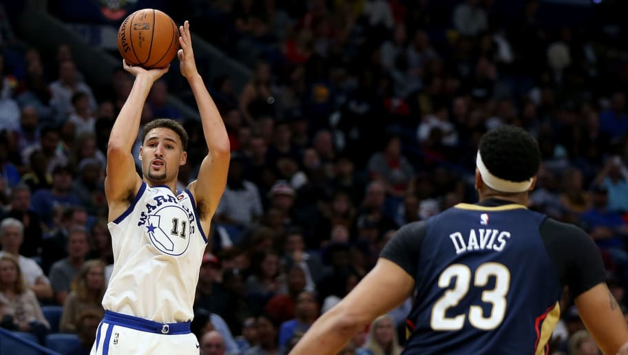 Klay Thompson,Anthony Davis