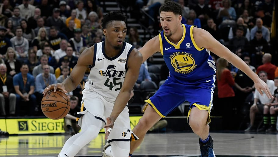 Donovan Mitchell,Klay Thompson