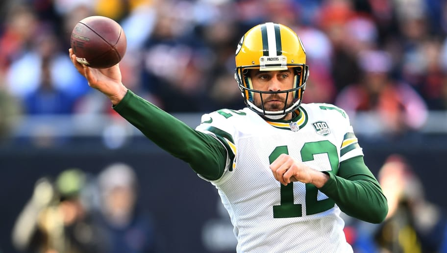more photos ed8c6 5ef20 Aaron Rodgers Reveals He Injured His Groin on Hail Mary ...
