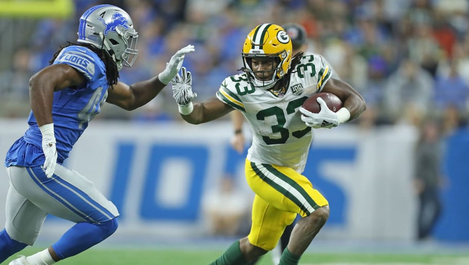 sports shoes d59e9 313b6 The Packers Have No Excuse for Underusing Aaron Jones | 12up