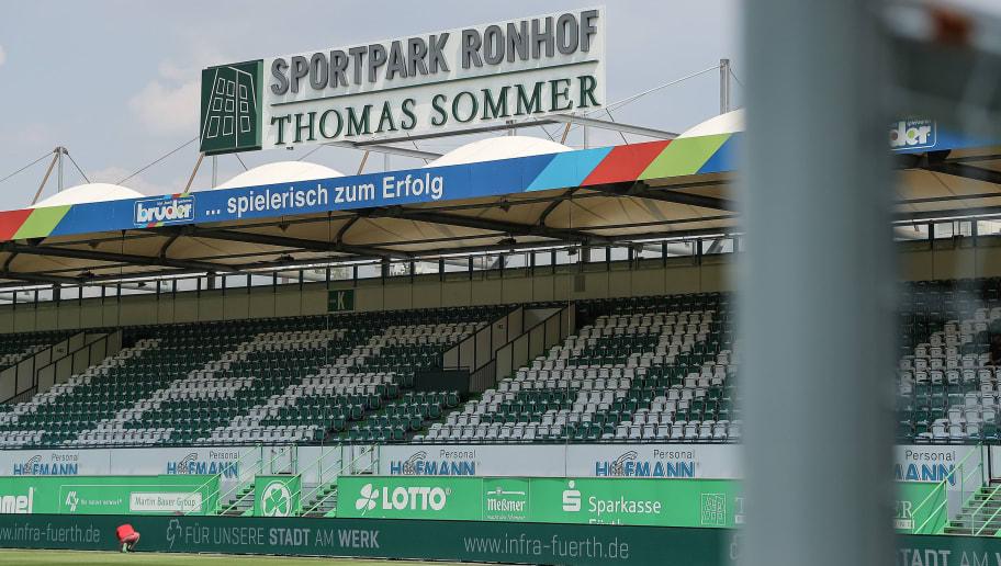 Greuther Fuerth v SV Sandhausen - 2. Bundesliga