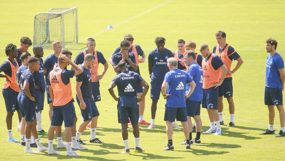 Hamburger SV Training Session