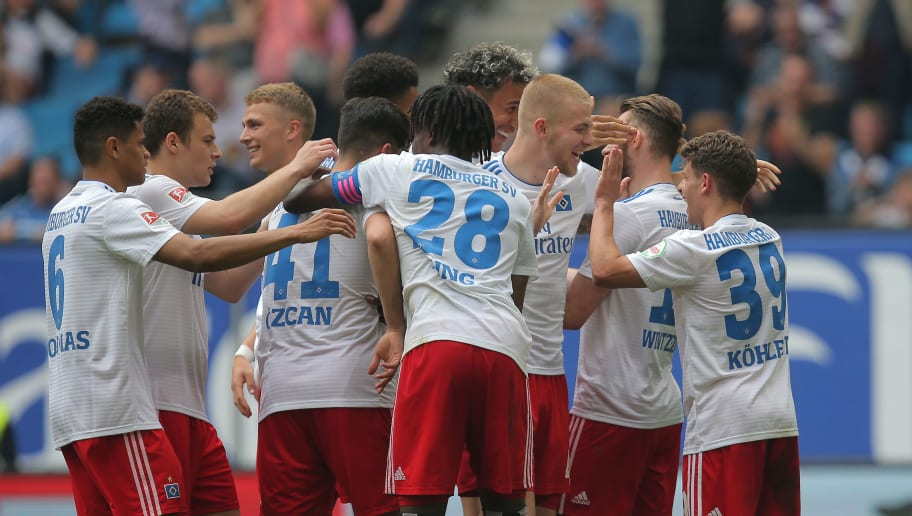 Hamburger SV v MSV Duisburg - Second Bundesliga