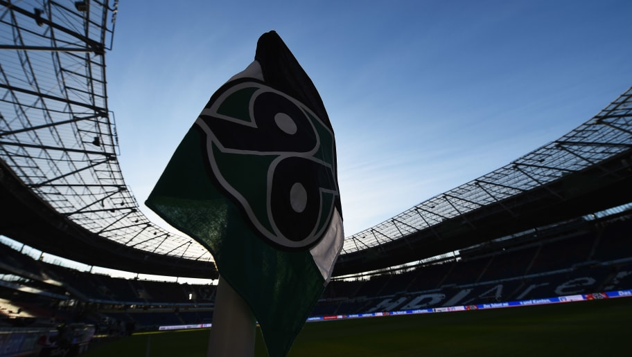 HANOVER, GERMANY - DECEMBER 19:  A view from the corner flag prior to the start of the Bundesliga match between Hannover 96 and FC Bayern Muenchen at HDI-Arena on December 19, 2015 in Hanover, Germany.  (Photo by Stuart Franklin/Bongarts/Getty Images)