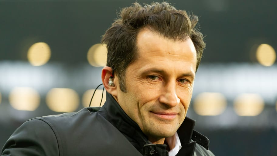HANOVER, GERMANY - DECEMBER 15: Hasan Salihamidzic of Bayern Muenchen looks on during the Bundesliga match between Hannover 96 and FC Bayern Muenchen at HDI-Arena on December 15, 2018 in Hanover, Germany. (Photo by TF-Images/TF-Images via Getty Images)