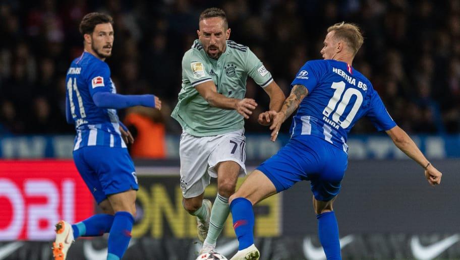 Franck Ribery,Ondrej Duda,Mathew Leckie