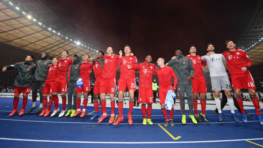 Hertha BSC v FC Bayern Muenchen - DFB Cup