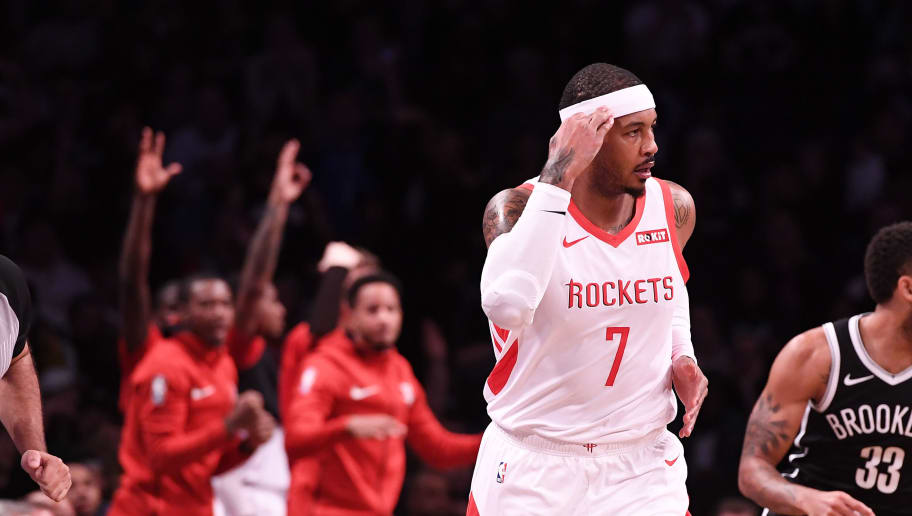 a189aac5077 Rockets and Carmelo Anthony Parting Ways