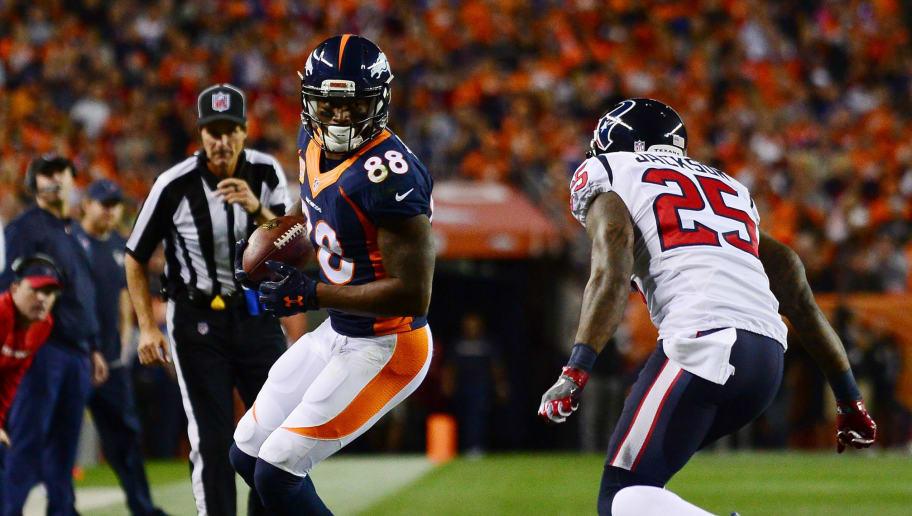 buy online 9c5c7 681ef Texans Finalizing Trade to Land Broncos WR Demaryius Thomas ...