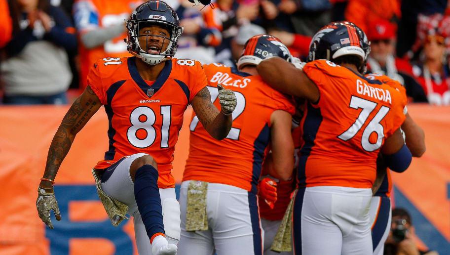free shipping c3342 60ac3 Would You Rather: Start Broncos WR Tim Patrick or DaeSean ...