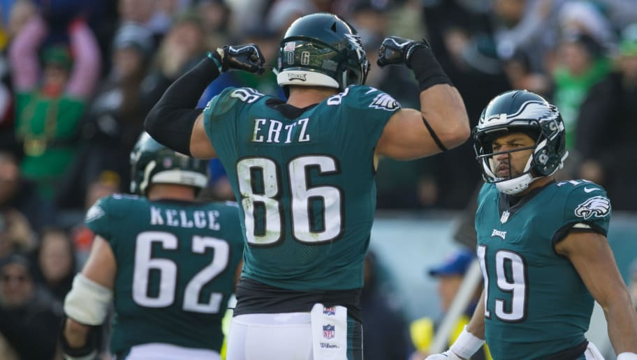 Jason Kelce,Zach Ertz,Golden Tate