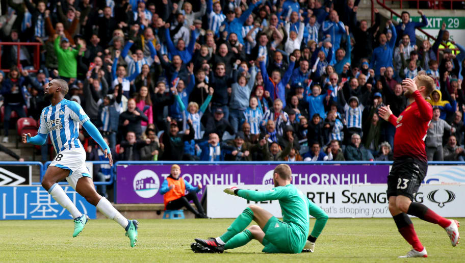 7e417796a91 Huddersfield 1-1 Man Utd: Report, Ratings & Reaction as Terriers End Red  Devils' Top Four Hopes