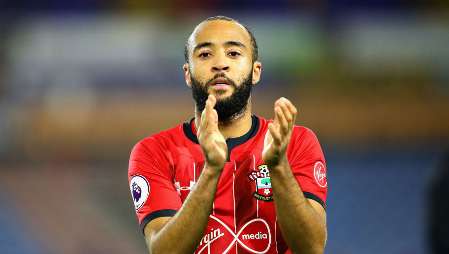 HUDDERSFIELD, ENGLAND - DECEMBER 22: Nathan Redmond of Southampton FC applauds the crowd after the Premier League match between Huddersfield Town and Southampton FC at John Smith's Stadium on December 22, 2018 in Huddersfield, United Kingdom.  (Photo by Chris Brunskill/Fantasista/Getty Images)