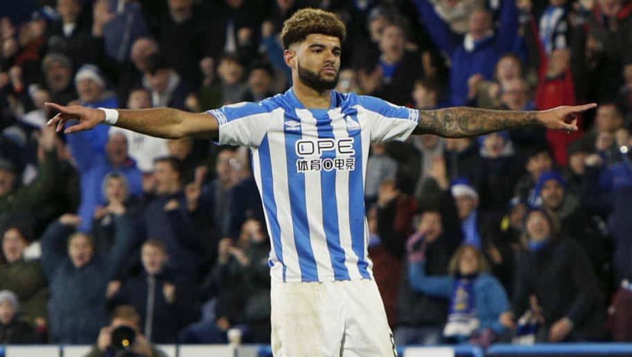 HUDDERSFIELD, ENGLAND - DECEMBER 22: Philip Billing of Huddersfield Town during the Premier League match between Huddersfield Town and Southampton FC at John Smith's Stadium on December 22, 2018 in Huddersfield, United Kingdom. (Photo by William Early/Getty Images)