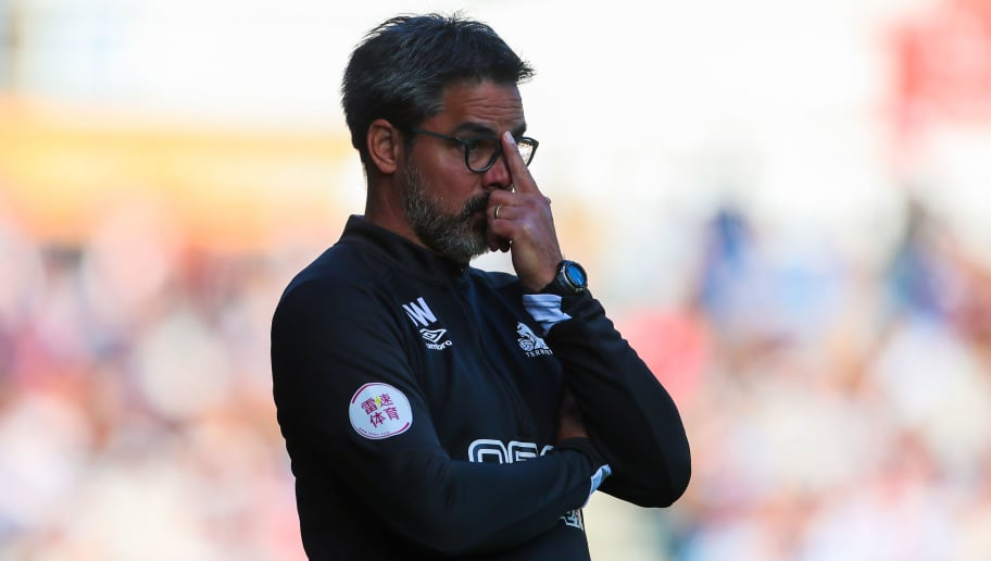 HUDDERSFIELD, ENGLAND - SEPTEMBER 29: David Wagner head coach / manager of Huddersfield Town during the Premier League match between Huddersfield Town and Tottenham Hotspur at John Smith's Stadium on September 29, 2018 in Huddersfield, United Kingdom. (Photo by Robbie Jay Barratt - AMA/Getty Images)