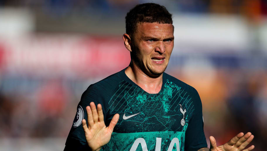 HUDDERSFIELD, ENGLAND - SEPTEMBER 29: Kieran Trippier of Tottenham Hotspur during the Premier League match between Huddersfield Town and Tottenham Hotspur at John Smith's Stadium on September 29, 2018 in Huddersfield, United Kingdom. (Photo by Robbie Jay Barratt - AMA/Getty Images)