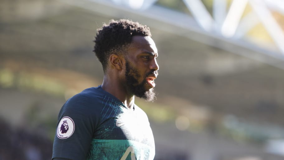 HUDDERSFIELD, ENGLAND - SEPTEMBER 29: Danny Rose of Tottenham Hotspur during the Premier League match between Huddersfield Town and Tottenham Hotspur at John Smith's Stadium on September 29, 2018 in Huddersfield, United Kingdom. (Photo by Ben Early/Getty Images)